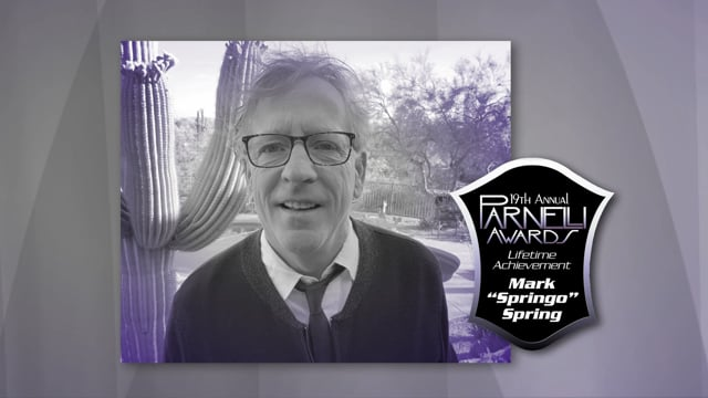"Mark ""Springo"" Spring: 2020 Parnelli Lifetime Achievement Honor"