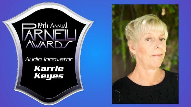 Karrie Keyes: 2020 Parnelli Audio Innovator Award