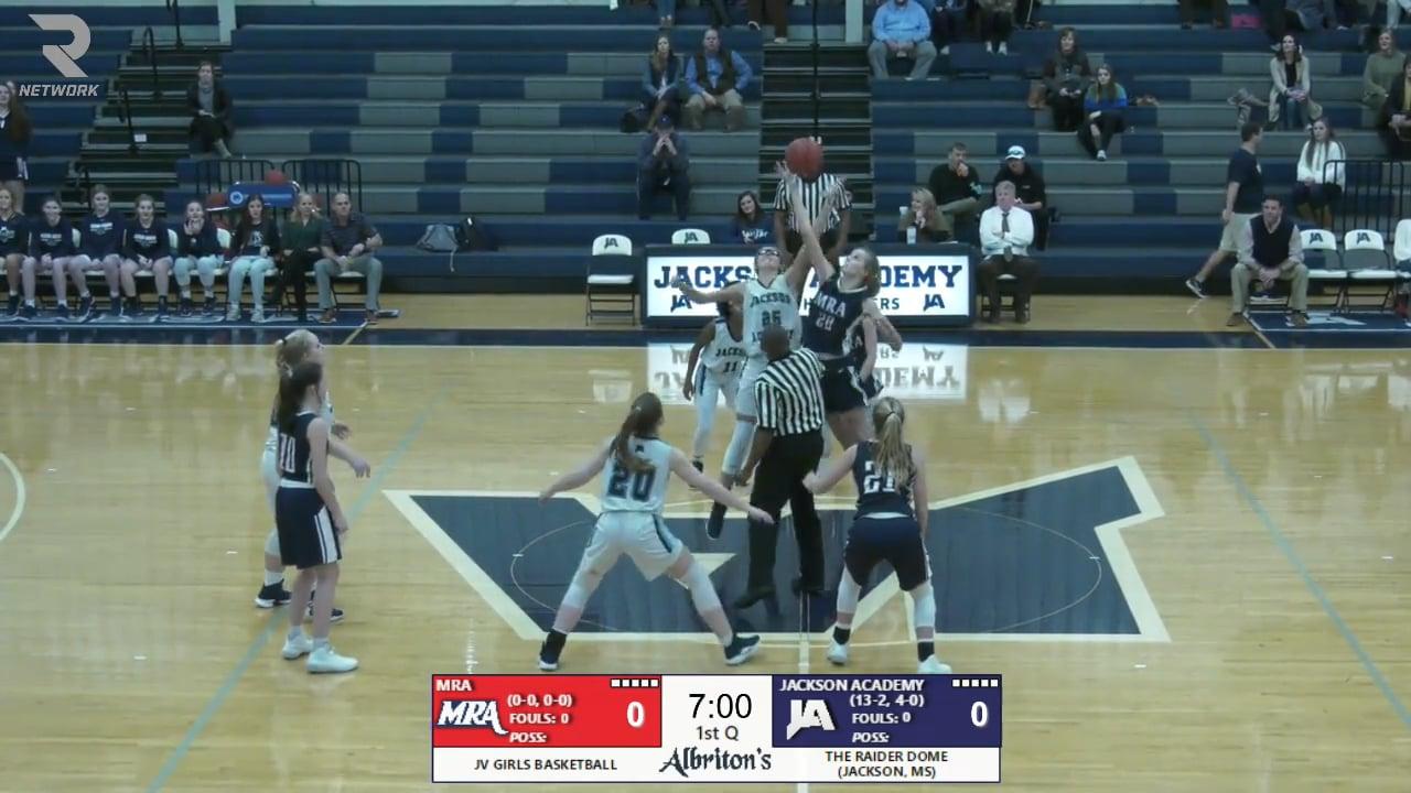 JV Girls Basketball-2020-Jan-21-MRA