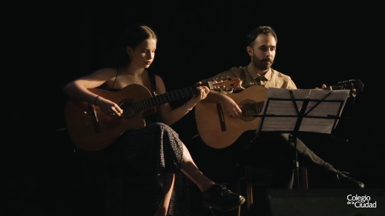 Himno Nacional Argentino en el Acto de Fin de Curso 2019 del Colegio de la Ciudad / ND Teatro
