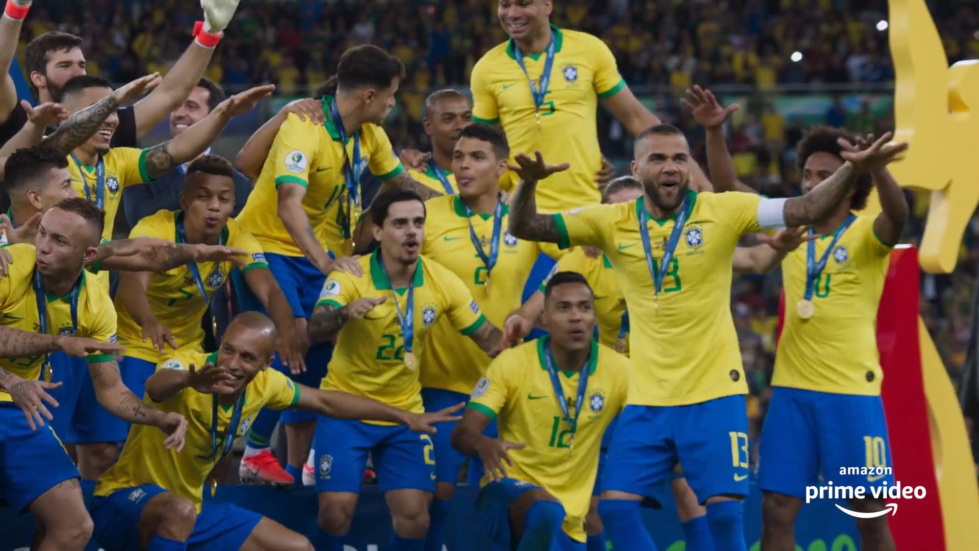 """AMAZON PRIME """"Tudo ou Nada - Seleção Brasileira"""""""