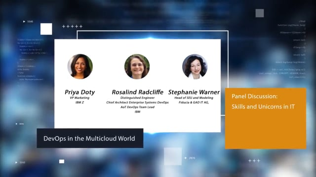 Panel Discussion: Skills and Unicorns in IT