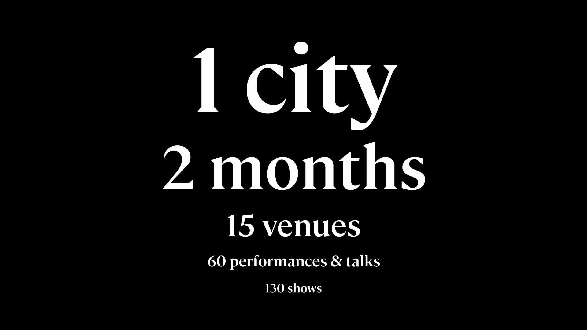 Brussels, dance! 2020 (teaser)