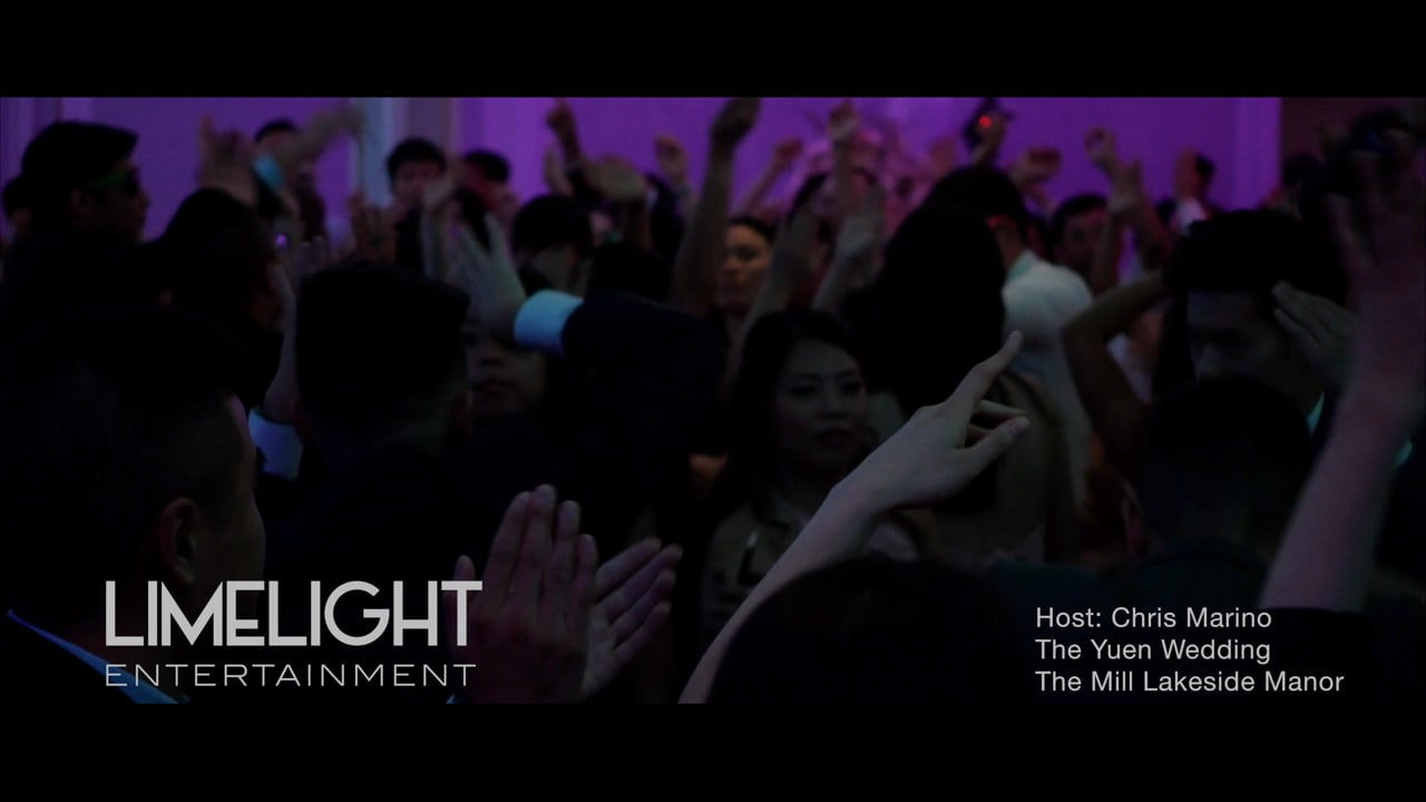 The Yuen Wedding   The Mill Lakeside Manor   Chris Marino of Limelight Entertainment