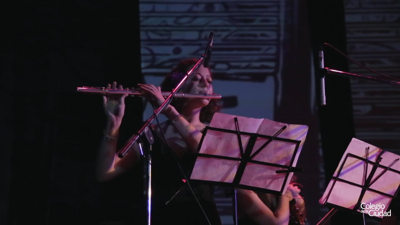 Libertango (Astor Piazzolla) en el Acto de Fin de Curso 2019 del Colegio de la Ciudad / ND Teatro