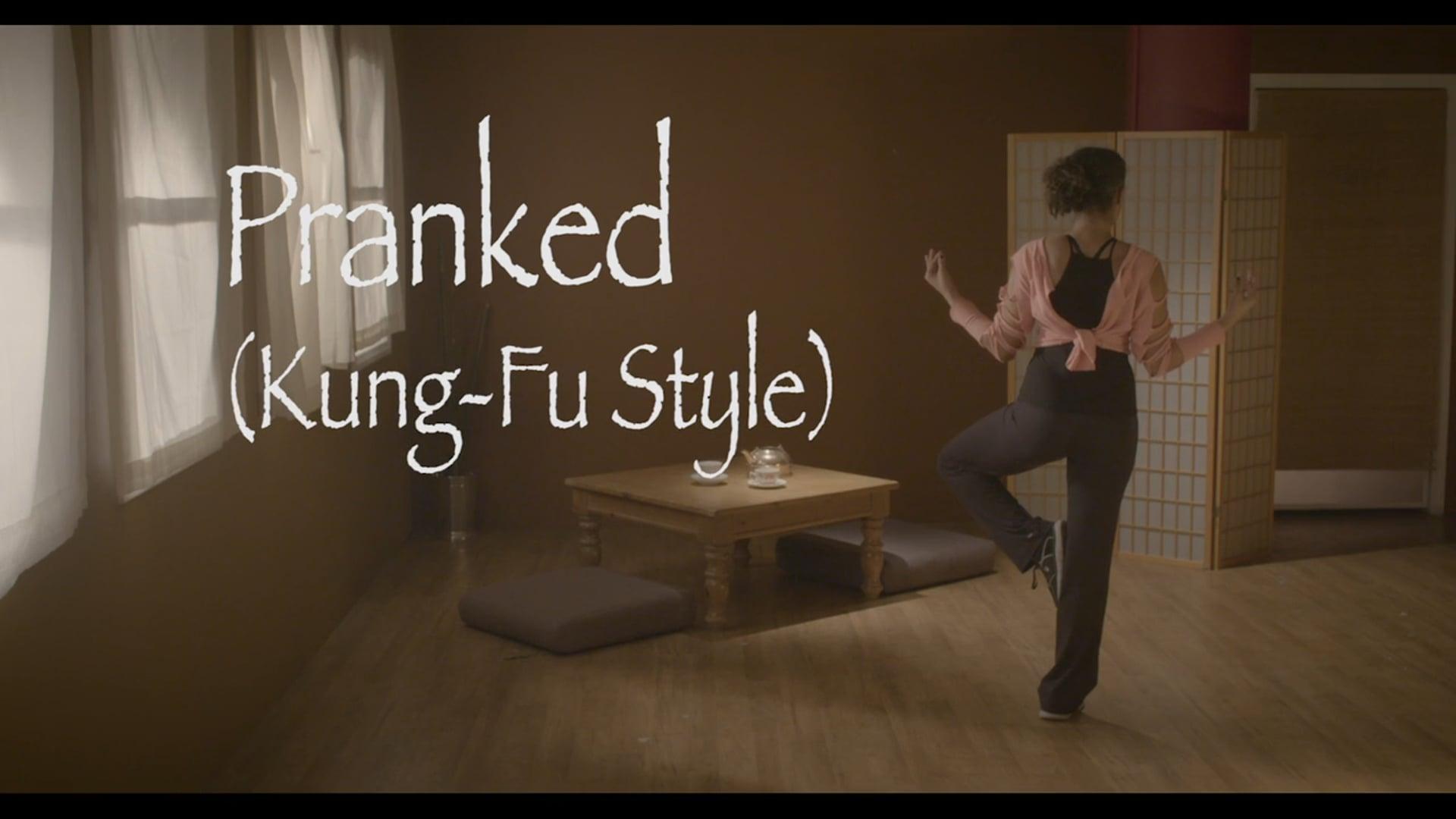 Pranked (kung-fu style)