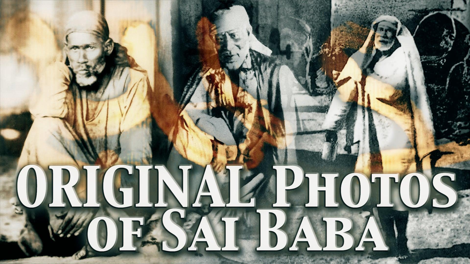 Original photos of Sai Baba