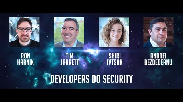 Panel Discussion: 2020 - Developers do Security