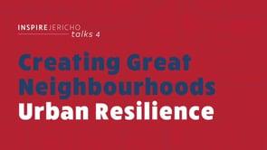 Inspire Jericho Talks: Urban Resilience (November 7)
