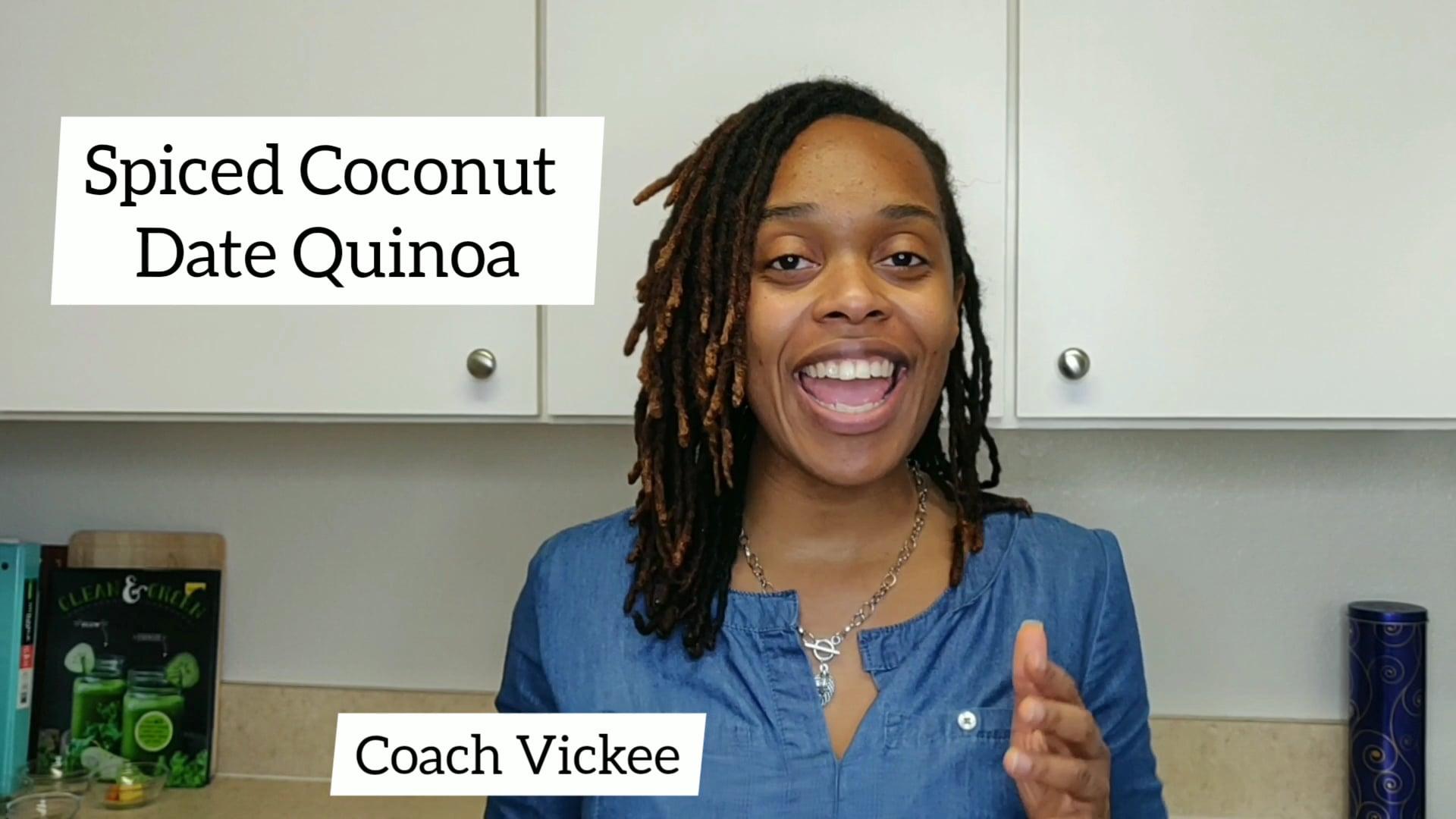 Spiced Coconut Date Quinoa