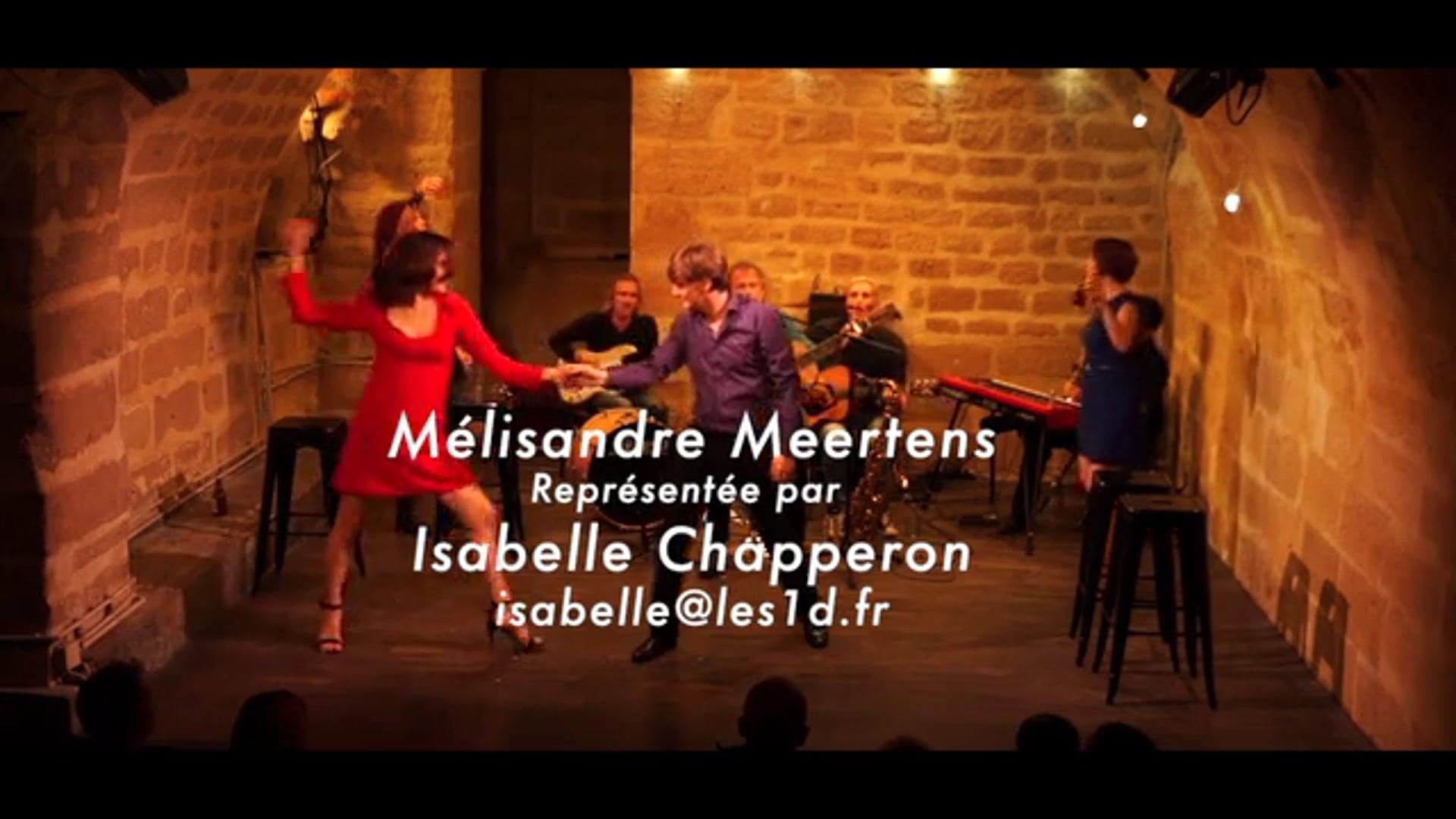 Extrait Théâtre Mélisandre Meertens