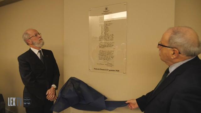 27/01/2020 Giornata Memoria 2020: inaugurata targa per ricordare gli avvocati