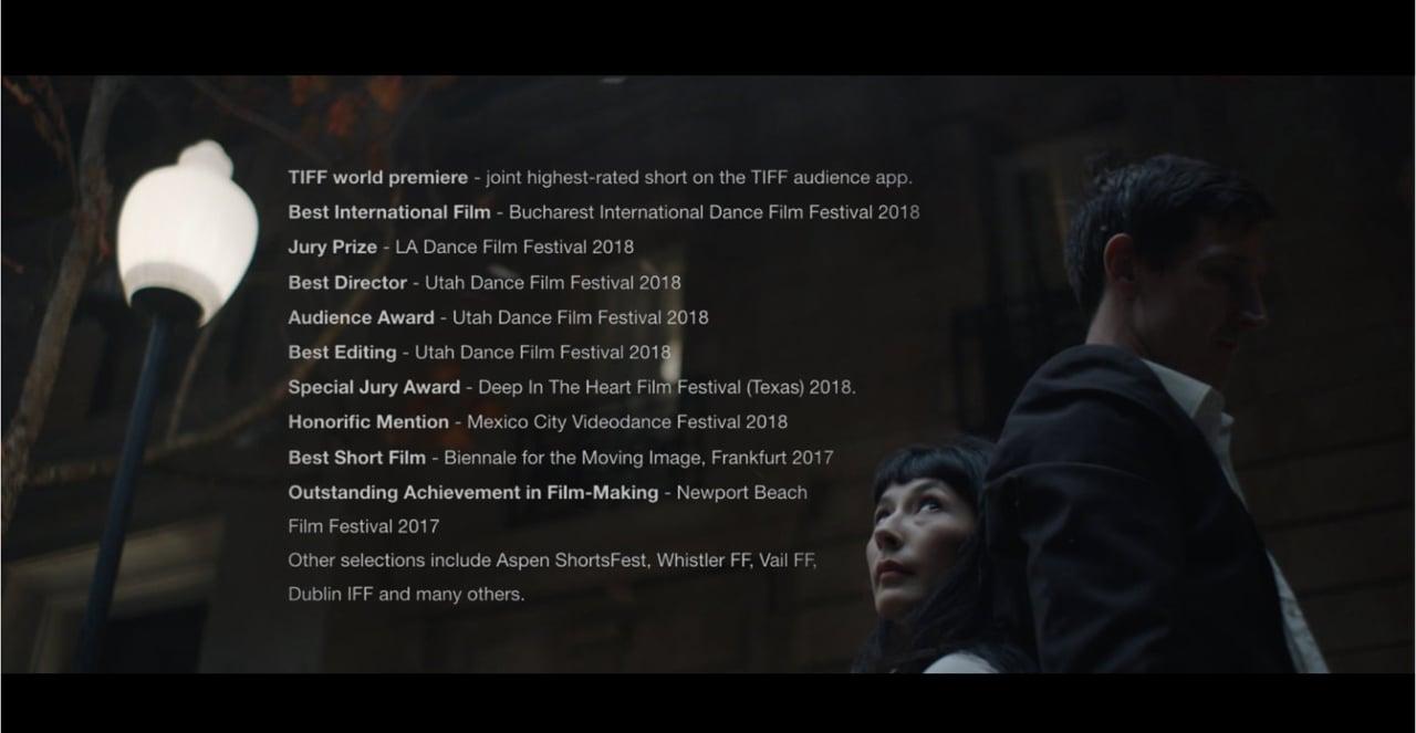 'Night Dancing' trailer with laurels