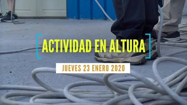 2020-01-23 | ACTIVIDAD EN ALTURA - PATRONA 2020