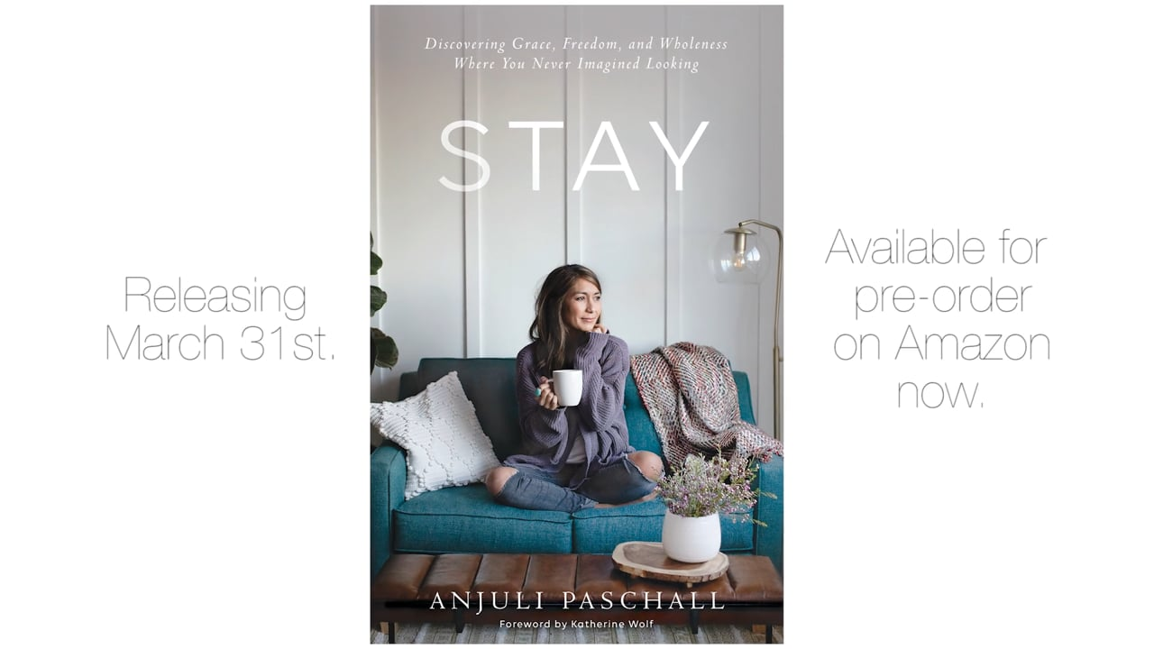 Book Promo - Stay by Anjuli Paschall