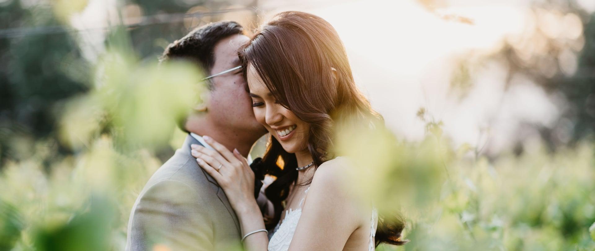 Tiffanie & Ernest Wedding Video Filmed at Yarra Valley, Victoria
