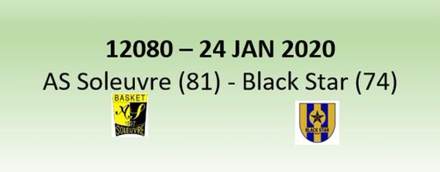 N2H 12080 AS Soleuvre (81) - Black Star Mersch (74) 24/01/2020