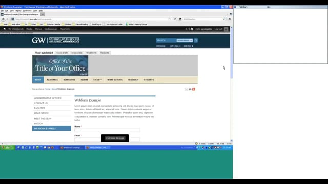 Webforms Overview