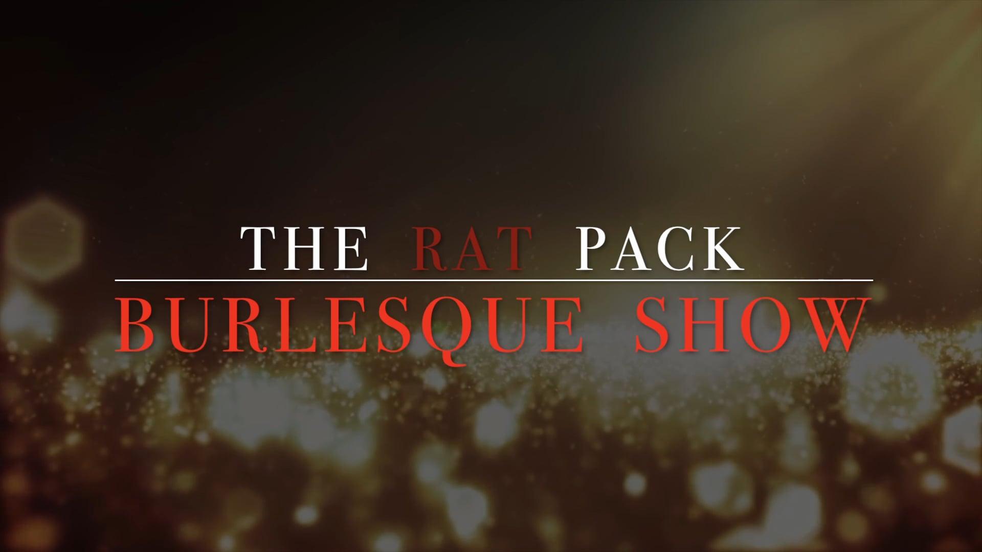 The Rat Pack Burlesque Show (promo)