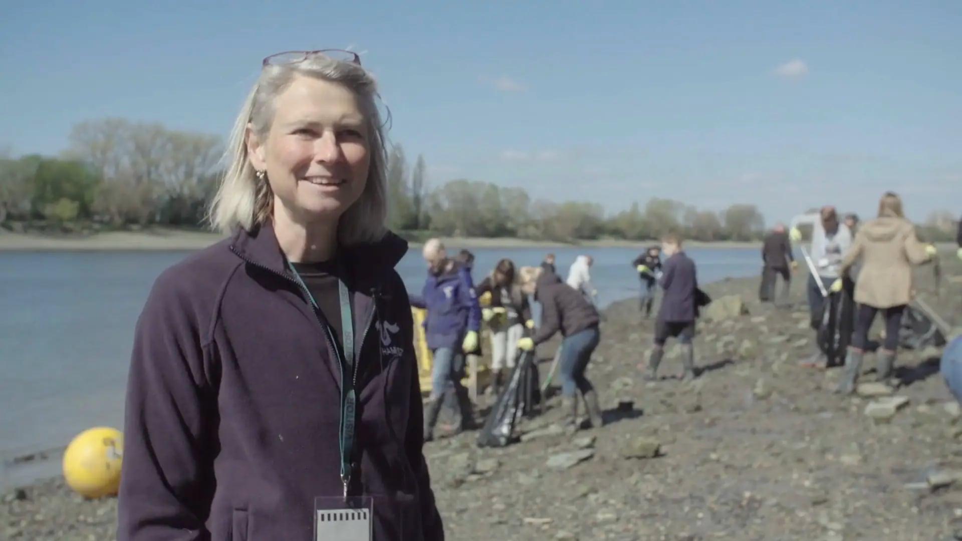#GreenGoals - Big River Clean Up - Full