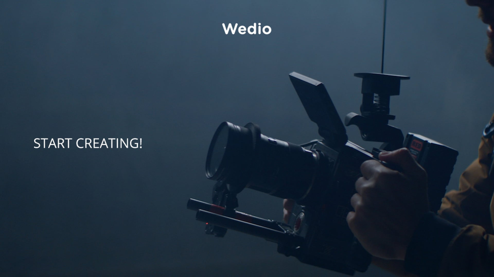 Wedio — start creating!