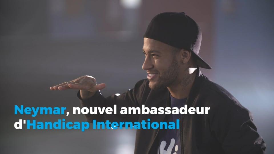 Handicap International - Making of clip Neymar