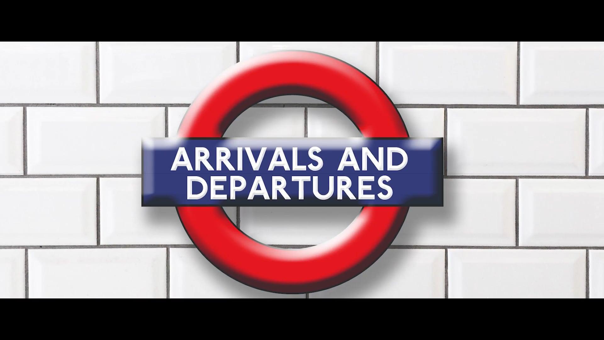 ARRIVALS & DEPARTURES - TRAILER FILM