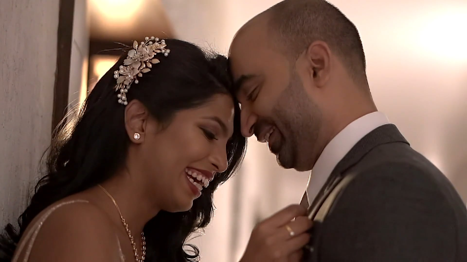 Bhavana & Nikhil Reception