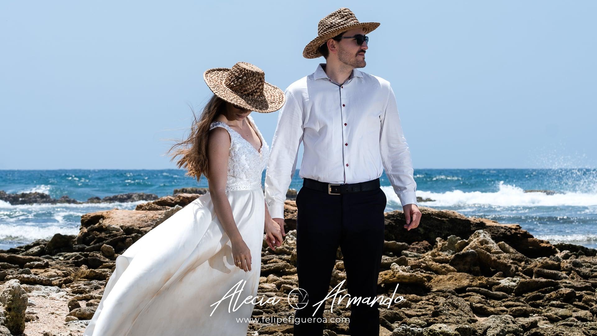 Alecia + Armando