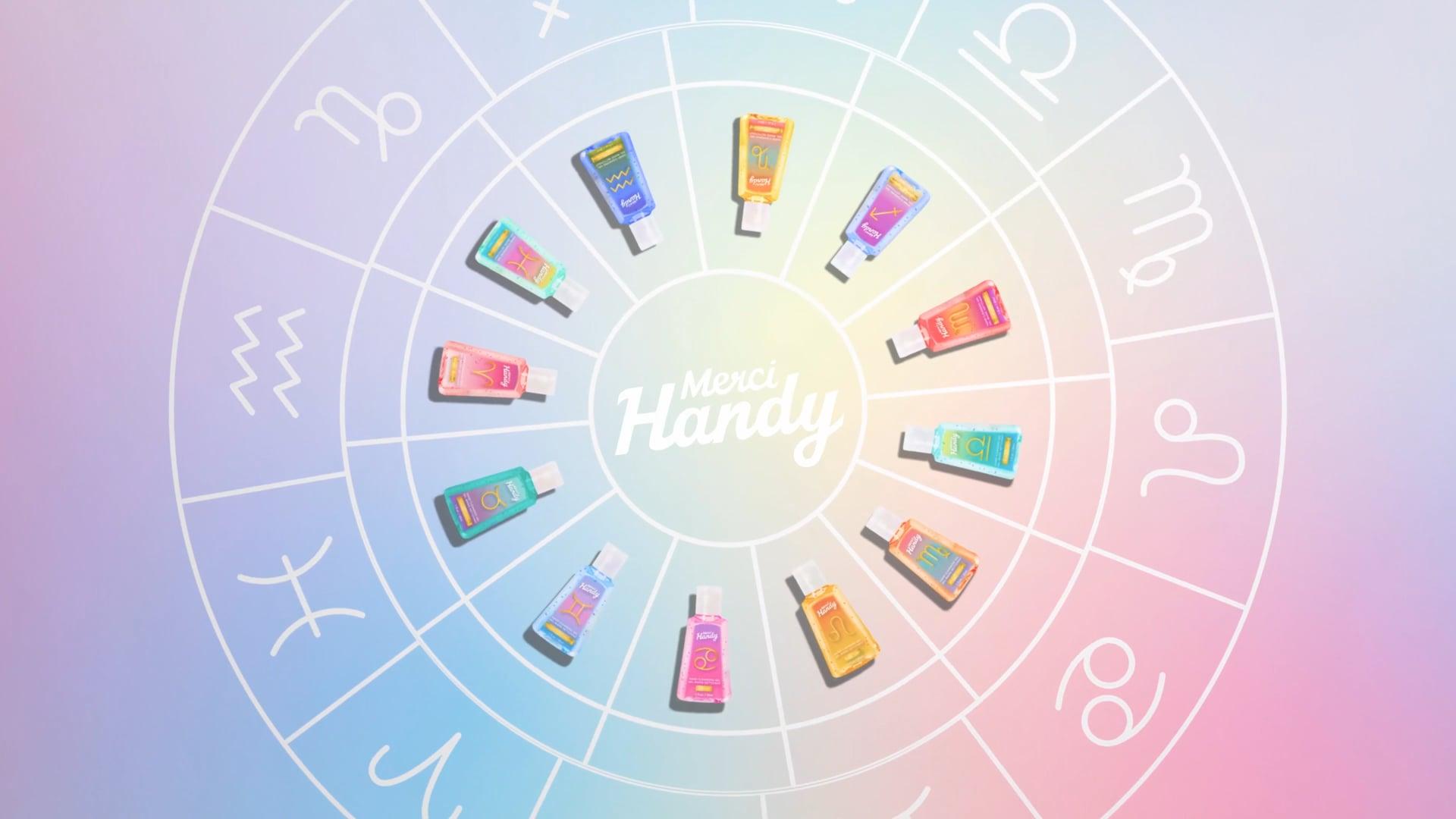 Merci Handy - Gels Zodiaques