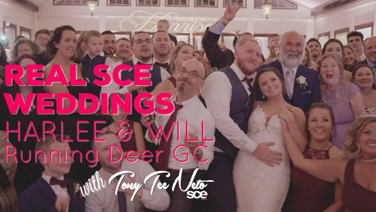 Real SCE Weddings - Harlee & William at Running Deer GC - SCE Event Group - Tony Tee Neto