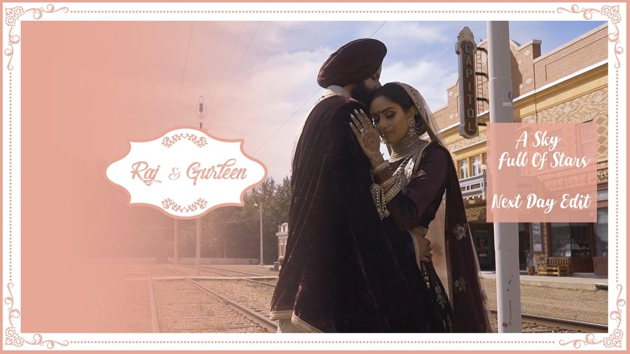 | A Sky Full Of Stars | Raj & Gurleen | Next Day Edit |