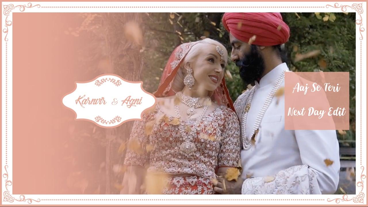 | Aaj se Teri | Karnvir & Agni | Next Day Edit |