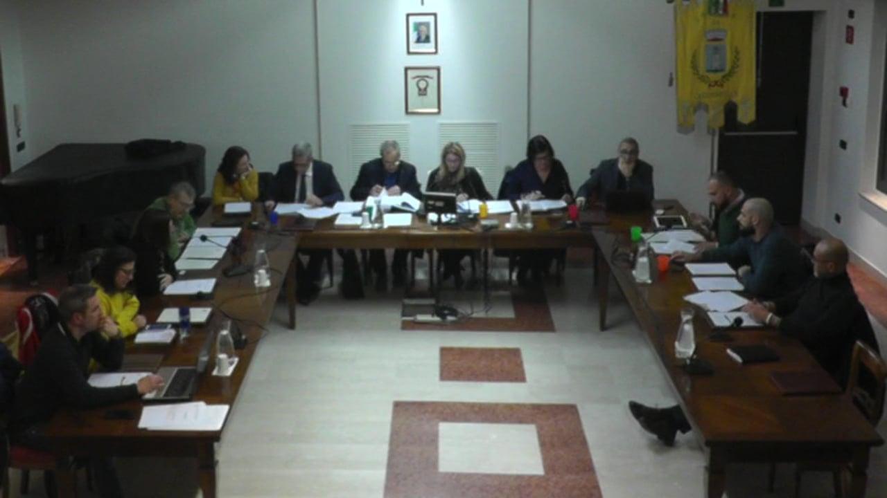 Consiglio Comunale del 24-01-2020