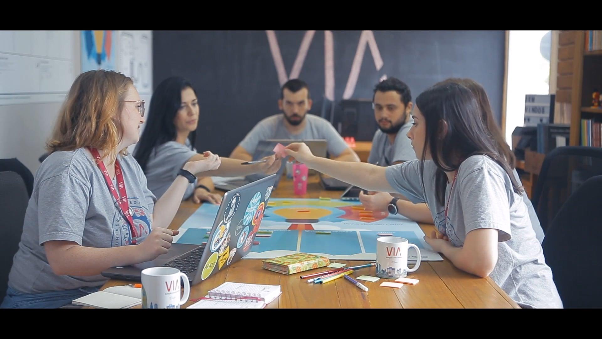 Grupo de Pesquisa VIA – Estação Conhecimento