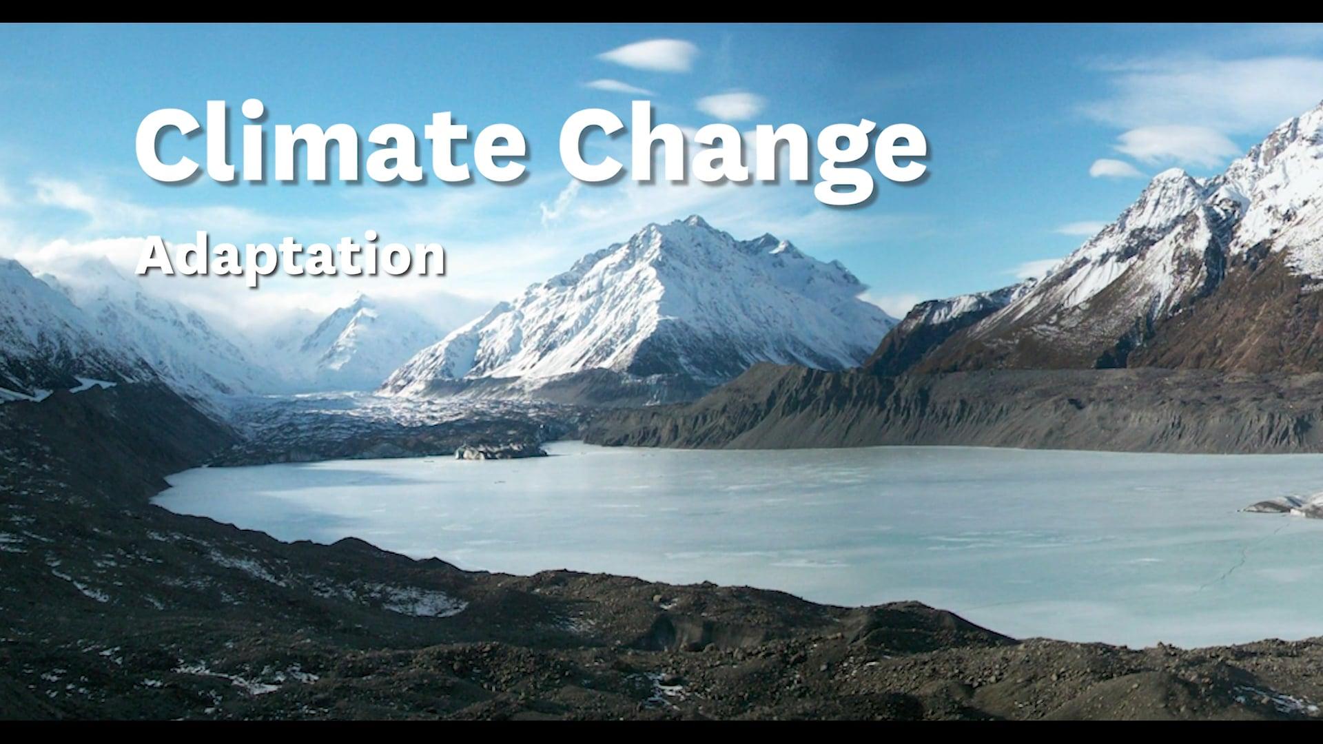 Climate Change - Adaptation