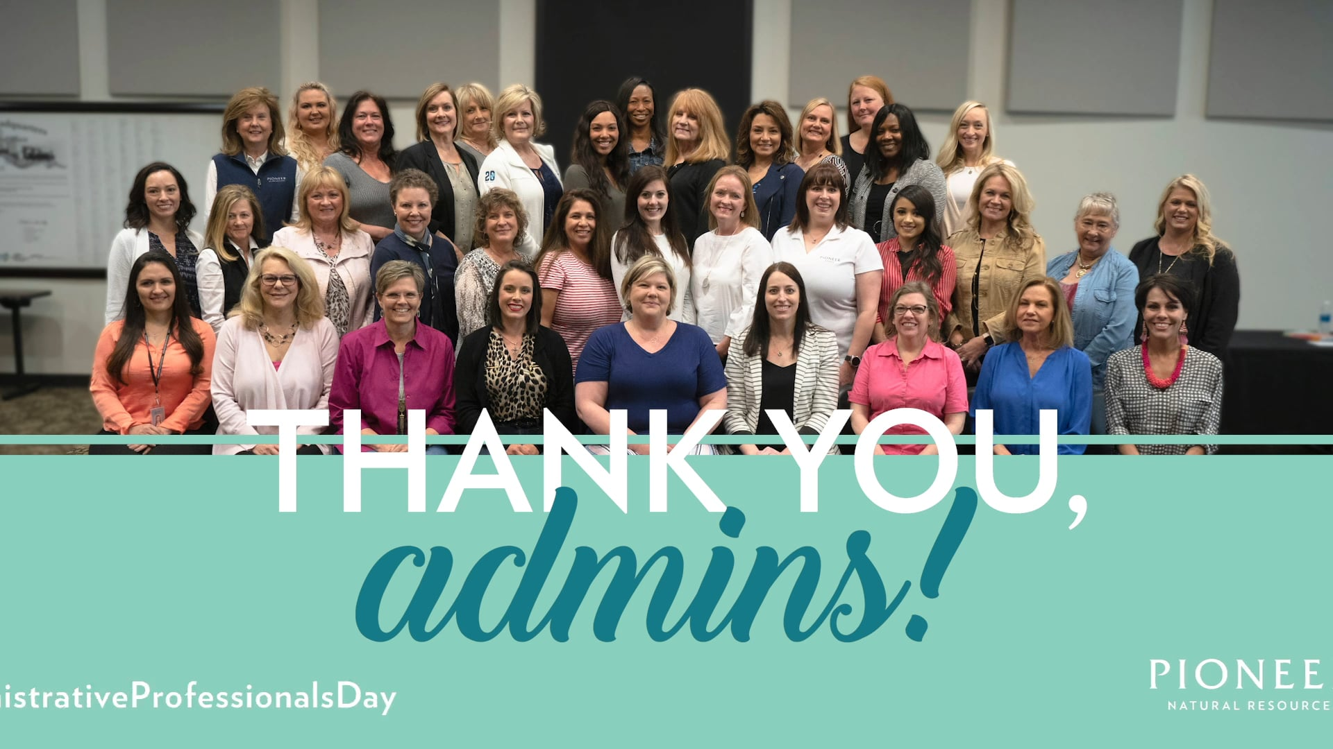 Pioneer Admin Professionals Day Video