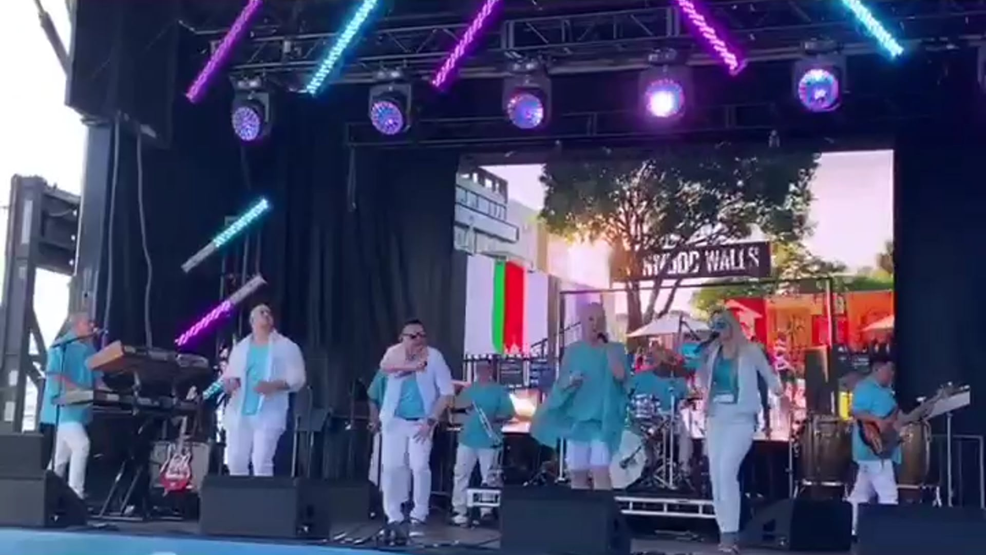 Live at Superbowl LIV - Blonde Ambition / Latin Ambition Band