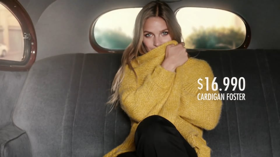 Mayte Rodriguez Campaña Paris #Cardigan #Oversize #Shiny