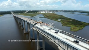 1491 Westlake Lake Charles chemical plant refinery video stock footage