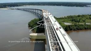 1499 Epic awesome aerial Lake Charles 210 interstate loop