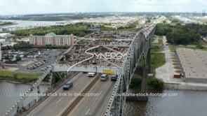 1500 Interstate 10 Calcasieu River Bridge most endangered bridge in Louisiana