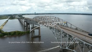 1505 Lake Charles interstate 10 Bridge aerial