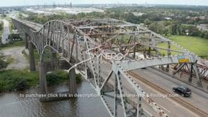 1507 Epic rust on Calcasieu River Bridge interstate 10 Lake Charles