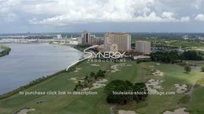 1512 Lake Charles area casinos aerial view