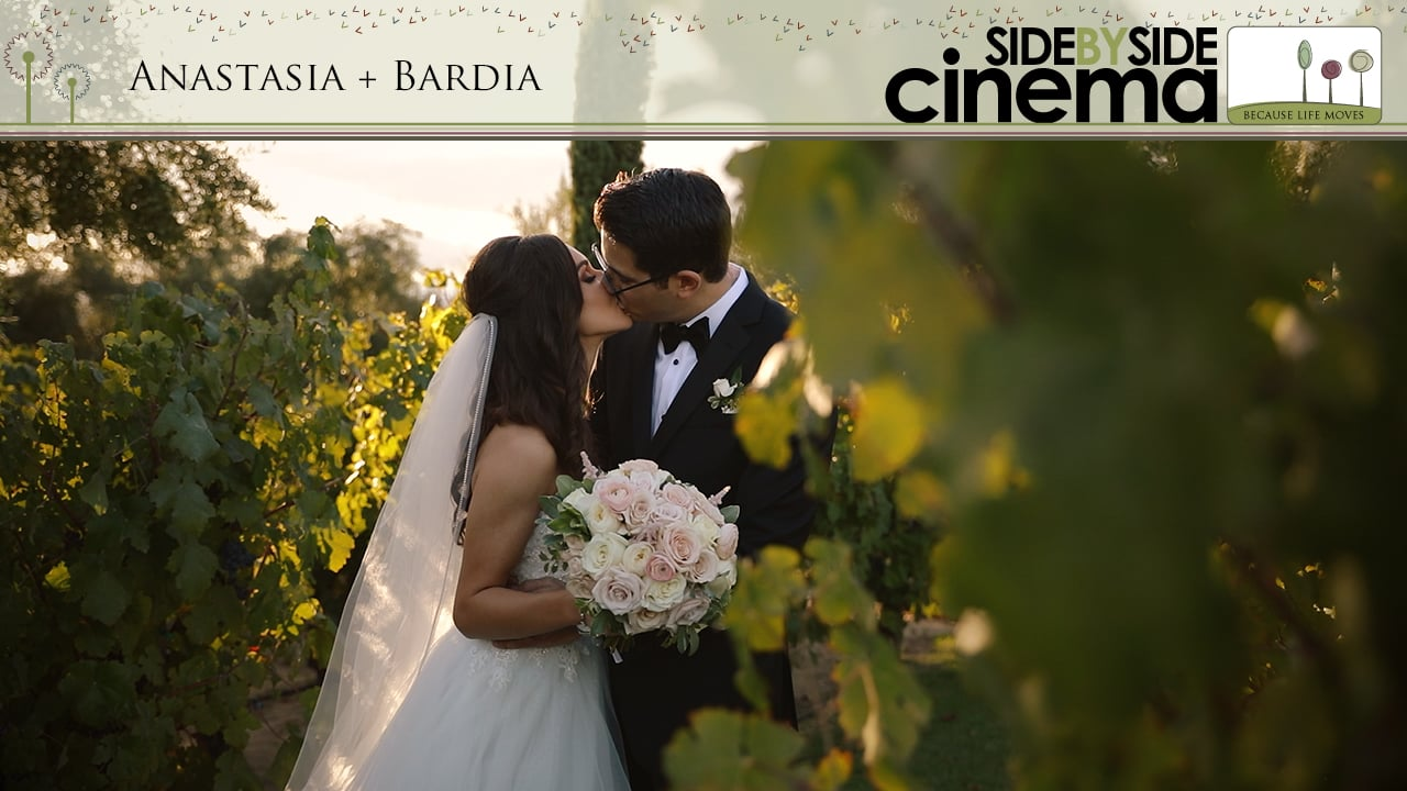 Ana + Bardia - Mount Palomar Winery