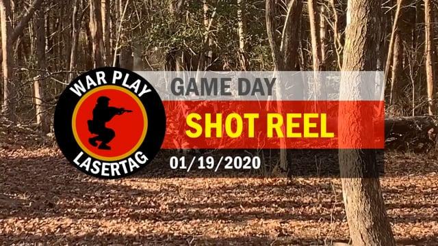 War Play Lasertag – Shot Reel – 01/19/2020