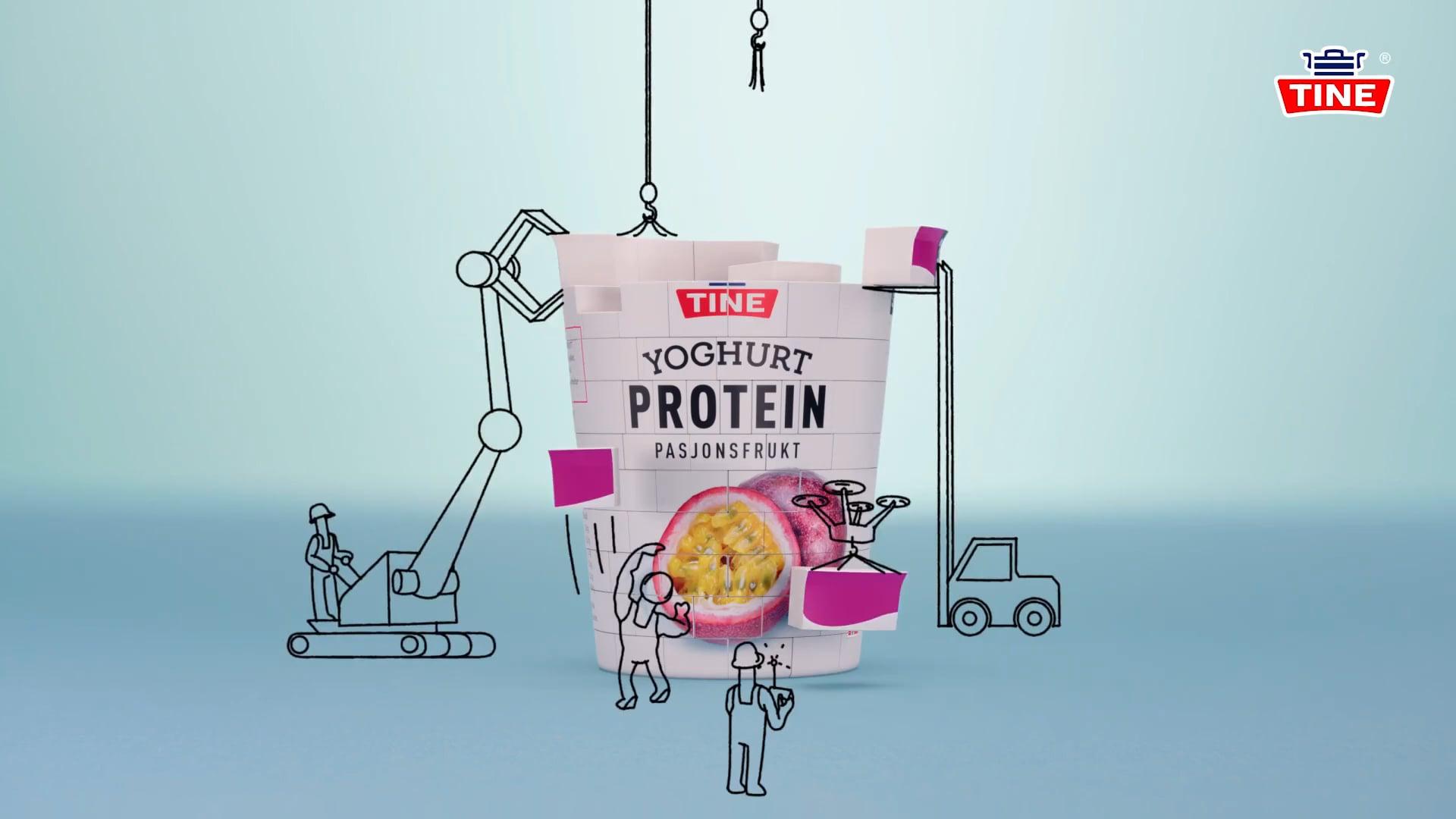 TINE Yoghurt Protein