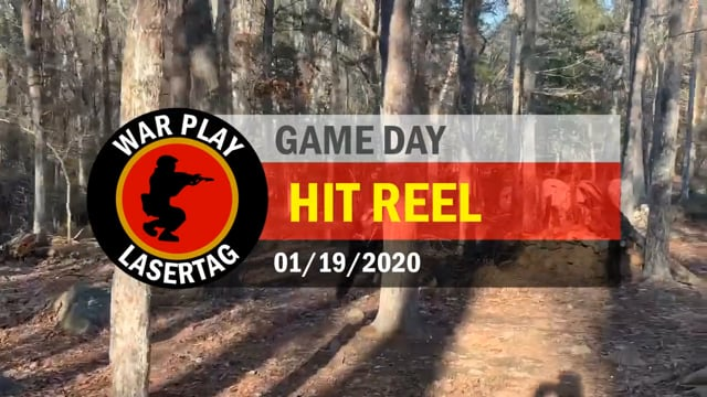 War Play Lasertag – Hit Reel – 01/19/2020