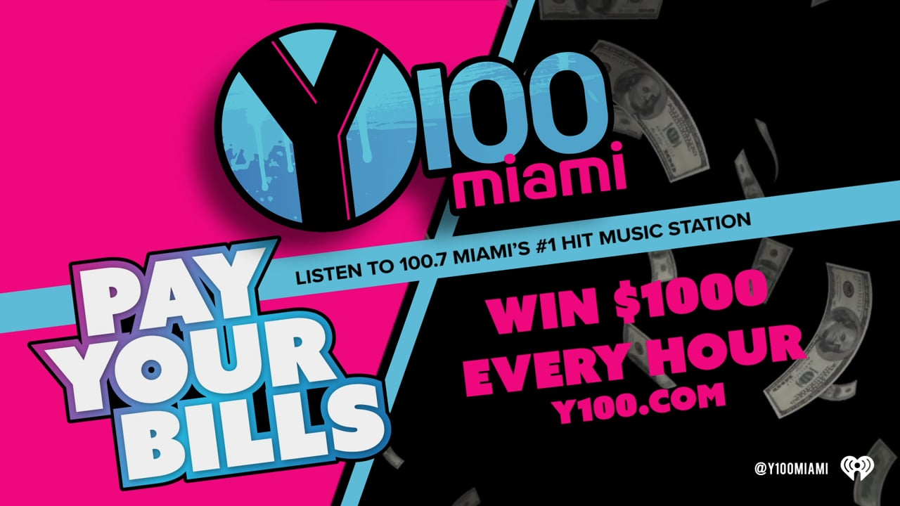Y100 Pay Your Bills Promo
